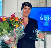 Martine Goulmy winnaar lustrumeditie Guts Award 2020
