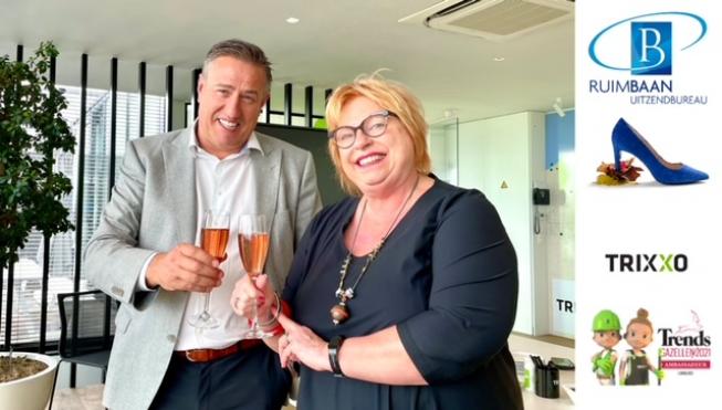 Ruimbaan Uitzendbureau is overgenomen door het belgische Trixxo