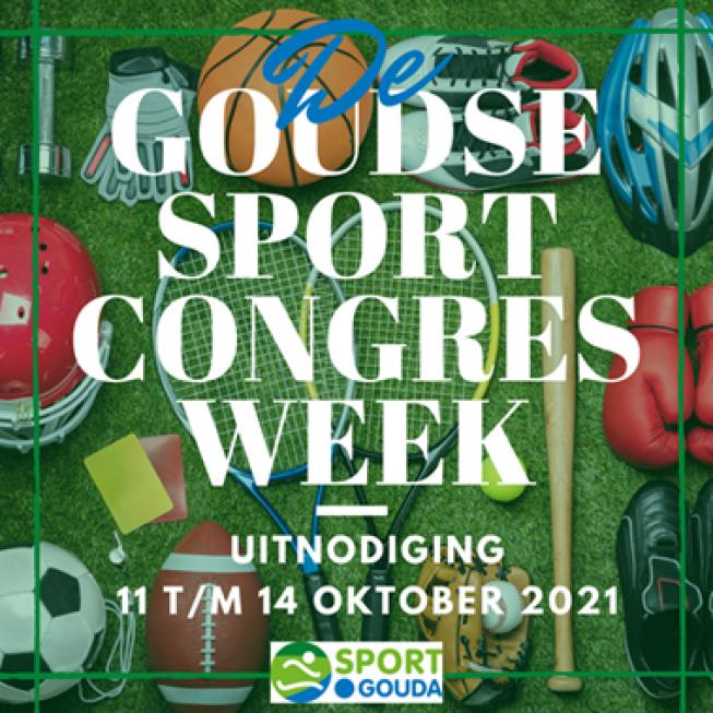 Programma Goudse Sportcongresweek 11 t/m 14 oktober bekend