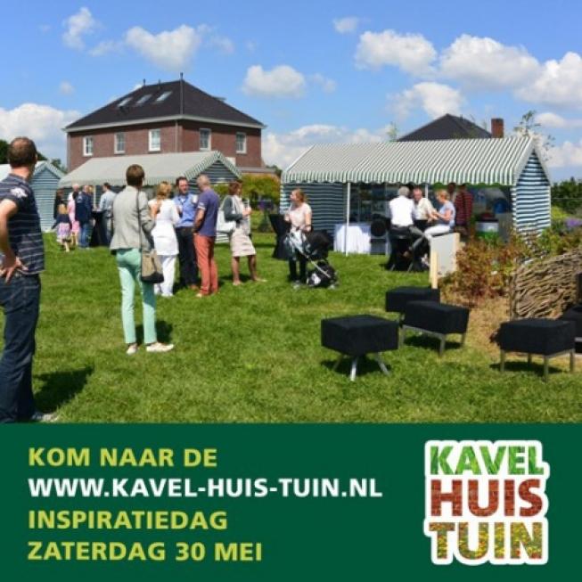 Zaterdag 30 mei: kavel-huis-tuin inspiratiedag bij Ernst Baas Hoveniers