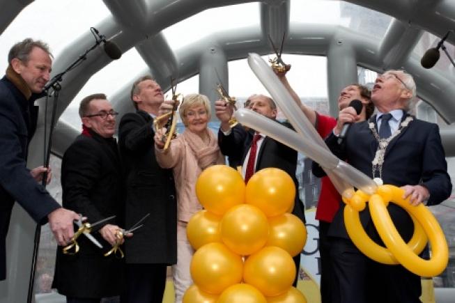 Winkelcentrum Gouweplein in Waddinxveen officieel geopend