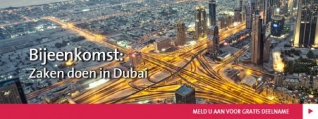 Bijeenkomst: Zaken doen in Dubai?!