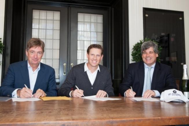 Hof Hoorneman Bankiers nieuwe hoofdsponsor van Maarten Lafeber